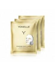 Yonelle Diamond Party Mask